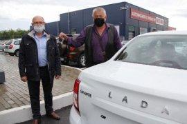 20 новых «LADA GRANTA» кузбассовцам, пострадавшим в результате несчастного случая на производстве