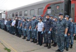 Сводный отряд кузбасской полиции вернулся из служебной командировки