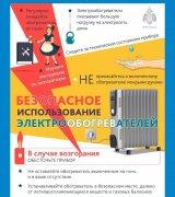 Правила пожарной безопасности при использовании электрообогревателей.
