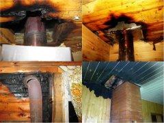 Причины возникновения пожаров в банях