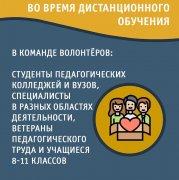 «Волонтеры образования» оказывают помощь родителям, педагогам и образовательным учреждениям по организации занятий в онлайн-режиме