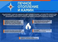 Печь и камин – источник угарного газа!