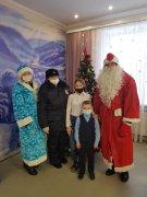Осинниковские полицейские приняли участие в новогодней акции
