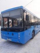Новый автобус в автопарке Осинниковской автоколонны