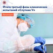 Третья фаза клинических испытаний «Спутник V» завершена