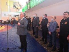 XXV Региональный турнир по вольной борьбе, посвященный памяти воина – интернационалиста Михаила Ваганова сегодня открыли в Осинниках