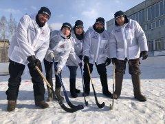 Хоккей на валенках 2021