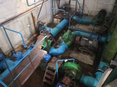 Водозабор №1 готовится к пропуску паводковых вод