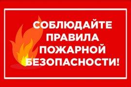 Пожарная безопасность в быту
