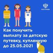 Возврат средств, потраченных на путёвки в детские лагеря