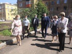 Как готовится посёлок Тайжина к юбилею Кузбасса?