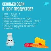 Мы не видим 80% соли, которую едим!