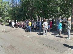 9 июля в поселке Тайжина состоялось открытие зала вольной борьбы