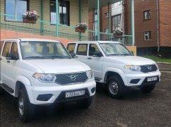 Автопарк Осинниковской городской больницы пополнился двумя новыми автомобилями
