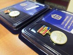 Вручение юбилейной медали