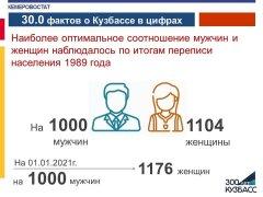 30.0 фактов о Кузбассе в цифрах
