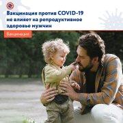 Вакцинация против COVID-19 не влияет на репродуктивное здоровье мужчин