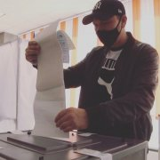 """Шахтёры """"Осинниковской"""" отдали свои голоса за кандидатов и партии"""
