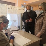 22 избирательных участка Осинниковского городского округа продолжают свою работу