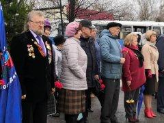 Традиционный митинг-памяти прошёл у Чернобыльской стелы