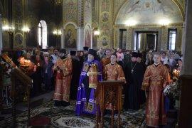 В Храме Святой Троицы состоялась праздничная служба